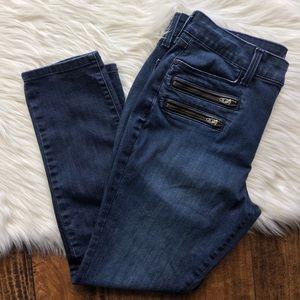 NYDJ Alina Legging Trim High Rise Jeans {14P}